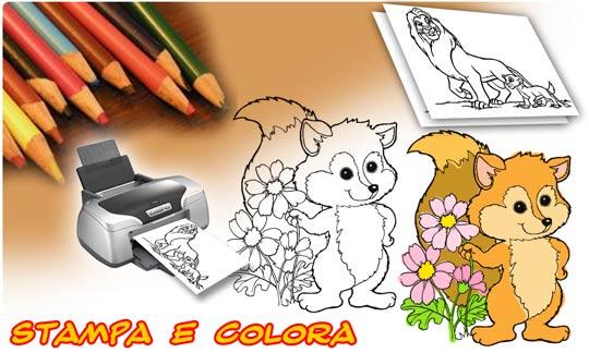 bimbo a bordo - disegni da colorare - stampacoloramb